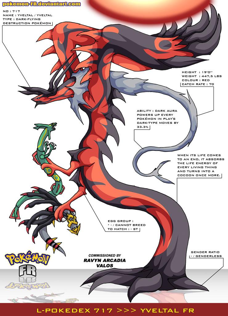 Pokedex 717 Yveltal FR by PokemonFR