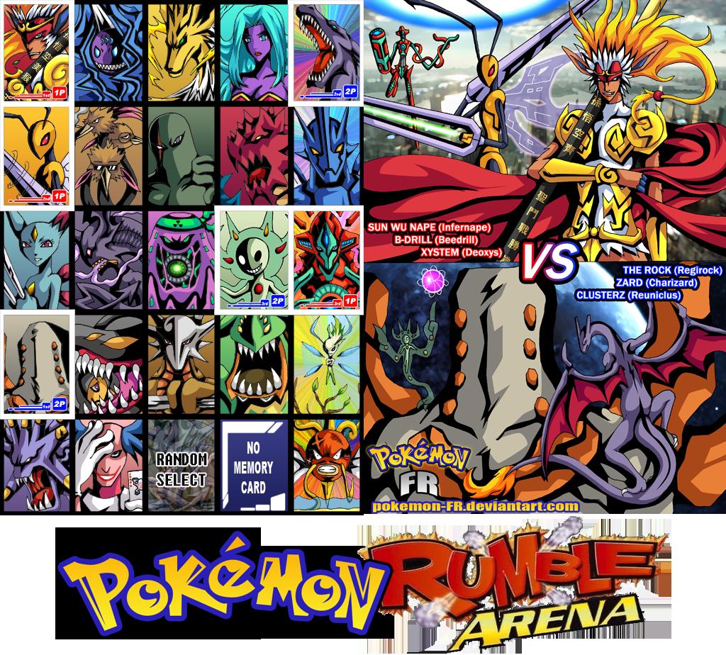 Pokemon Rumble Arena by Pokemon-FR