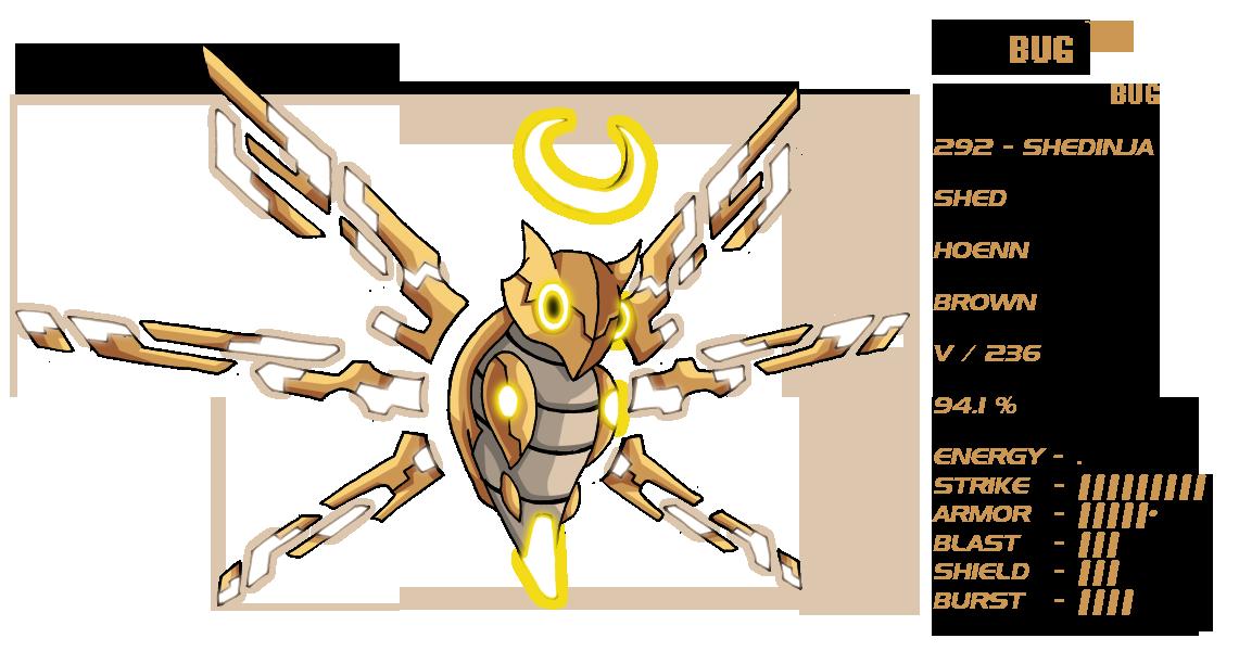 DeBUG 292 - Shedinja by Pokemon-FR