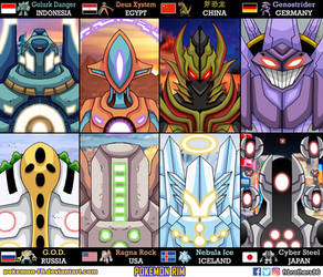 Pokemon Rim - POKAEGERS by frbrothers86