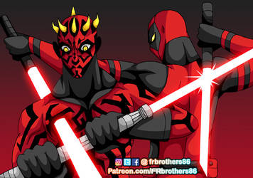 FR8 Darth Maul VS Darth Pool