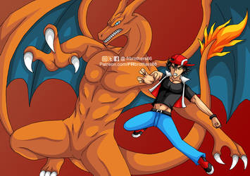 AE04 Red - Charizard