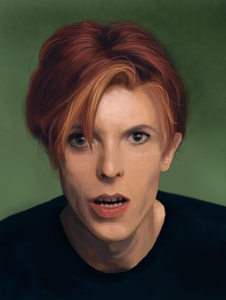 David Bowie by RosieFreakish
