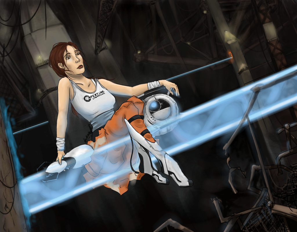 Chell - Portal 2 by RosieFreakish on DeviantArt