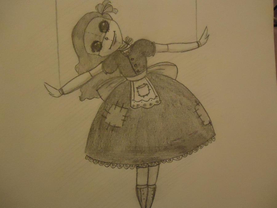 creepy doll by kokoQ8 on DeviantArt