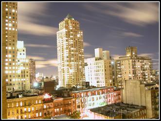 big city bright lights by zeroskyy
