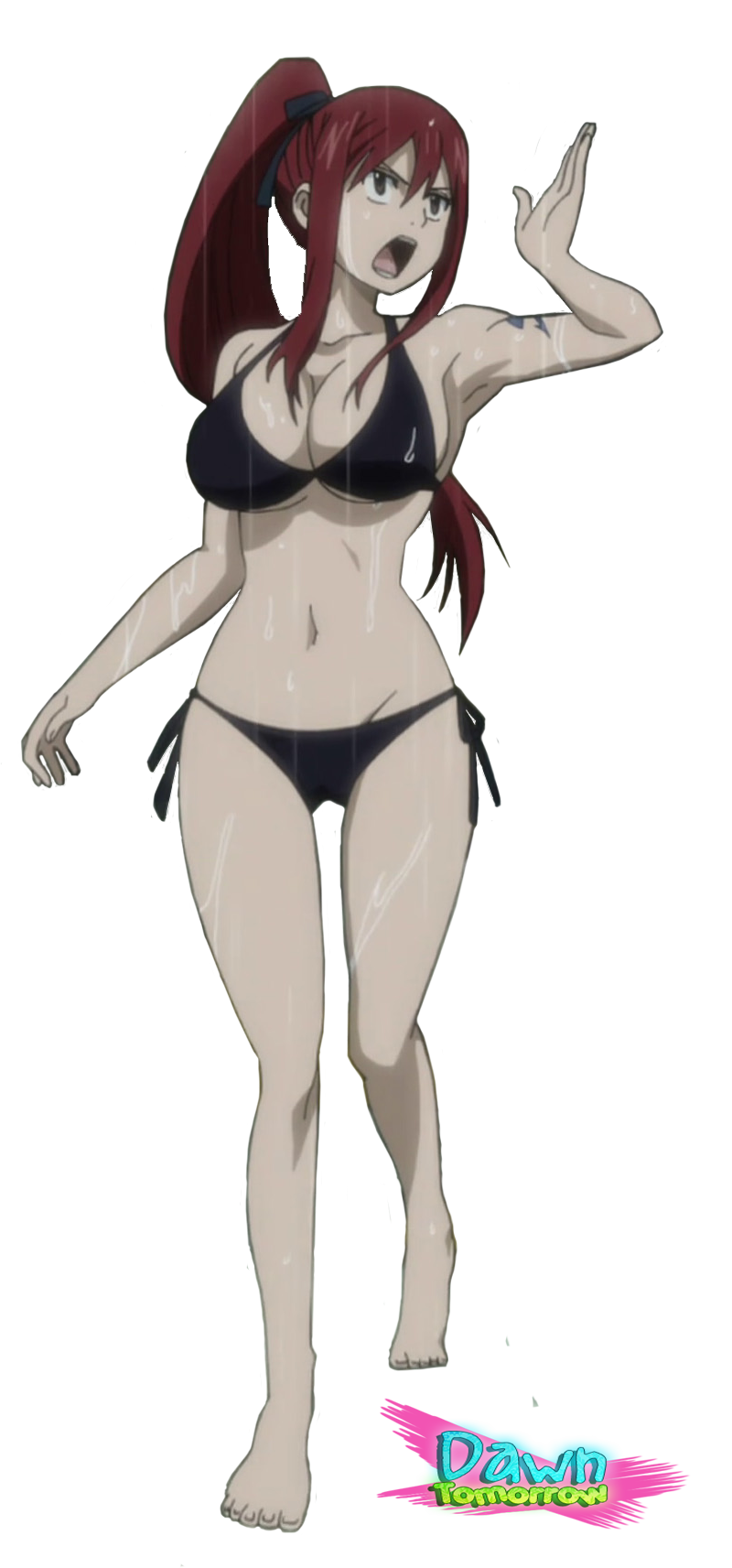 Render Erza by DawnTomorrow