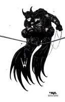 The Bat-Man INKS by TaylorGarrity