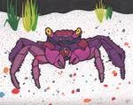 Purple Crab by glenkamo