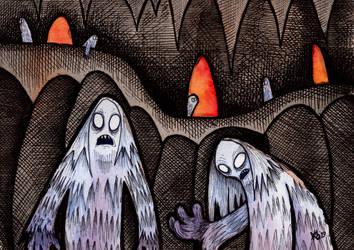 Morlocks by glenkamo