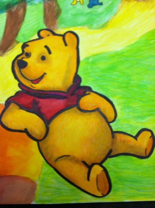 Winnie the Pooh by JaszmyneNauden