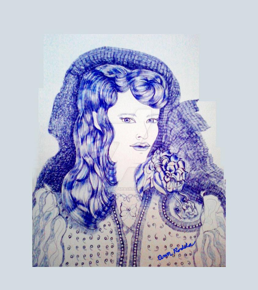 Blue Mystery by ravensartshack