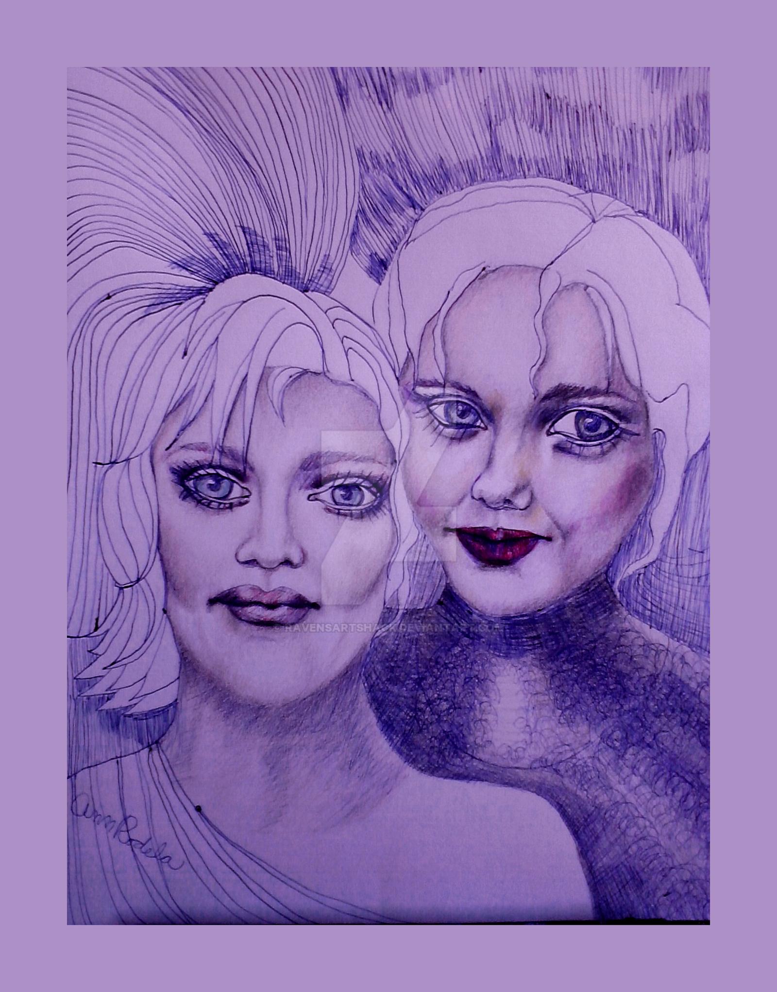 Sisters by ravensartshack