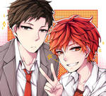 GSNK: Nozaki and Mikorin