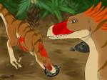 Raptor Red: Building the Pair-Bond