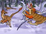 Raptor Red: Whiptail Battle