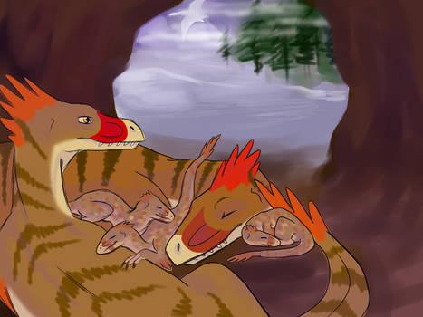 Raptor Red: Happy Ending