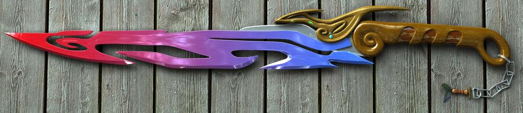 Mighty Badger Sword by JackInTheDark