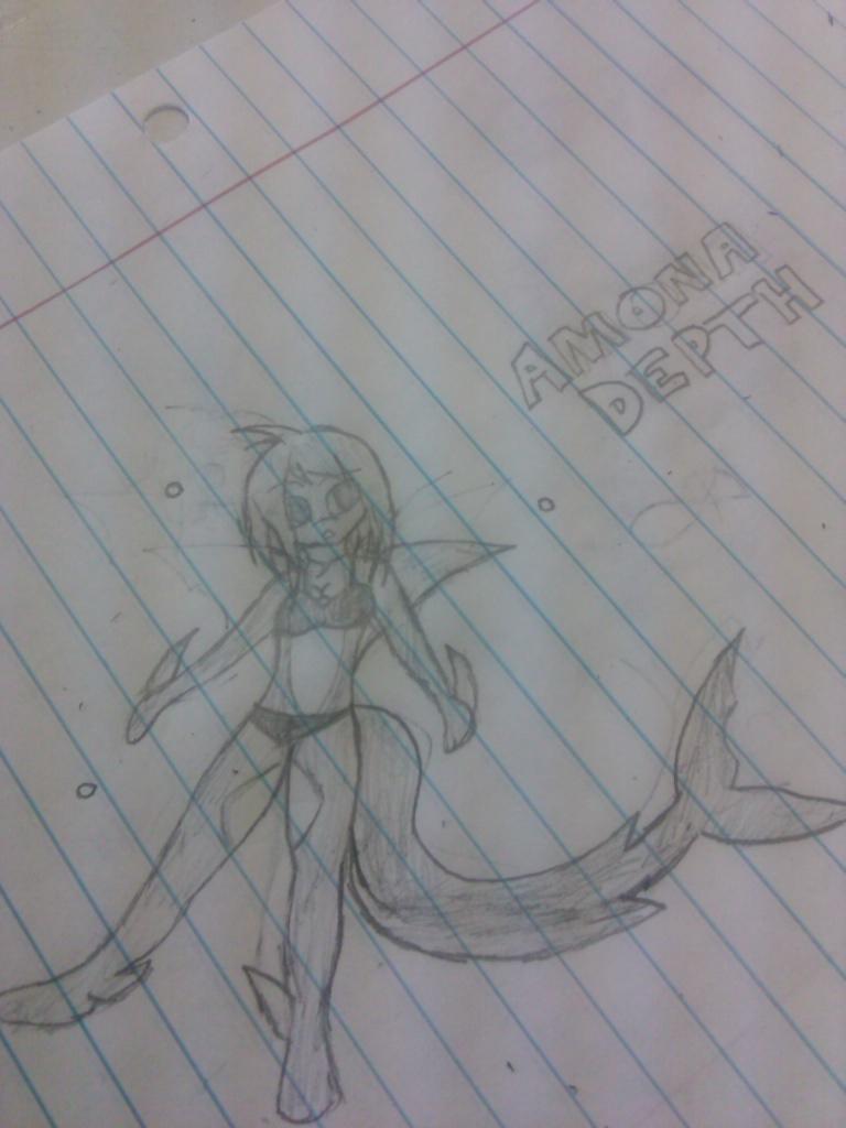 Amora Depth - Shark Girl by Jonny2211197