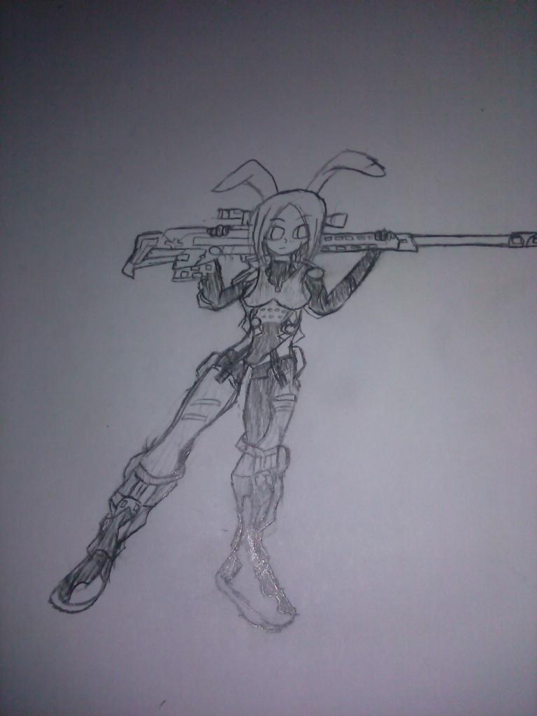 Firefall's Bunny Sniper by Jonny2211197