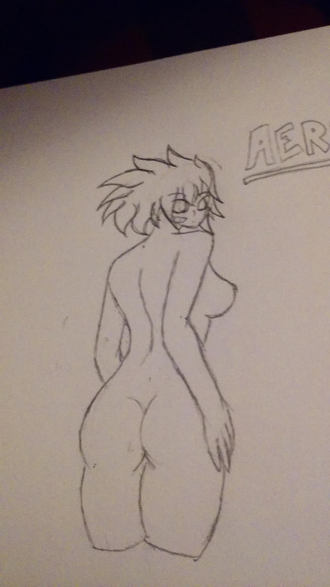 Aeris (Not Colored) by Jonny2211197