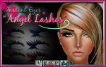 Angel EyeLashes PSD coloured eye lashes