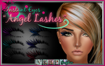 Angel EyeLashes PSD coloured eye lashes