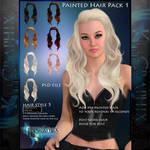 Instant Hair PSD Stock - Nica | hi res 300dpi