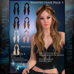 Instant Hair PSD Stock - Keira| 2000px 300dpi by MakeMeMagical