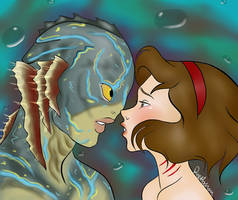 The Shape Of Water by deusodemon
