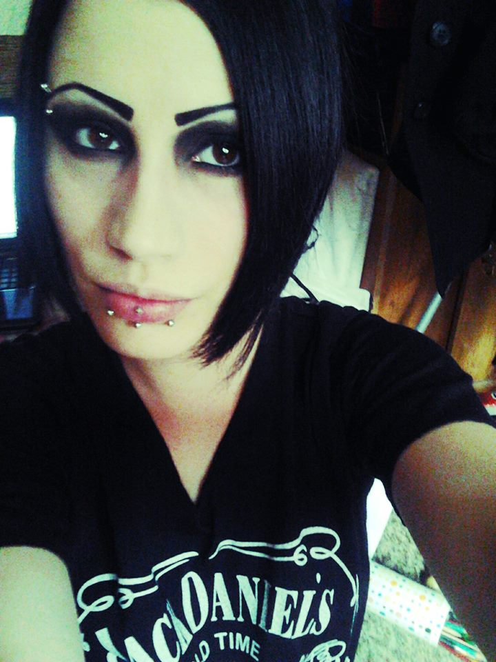Chris motionless without makeup