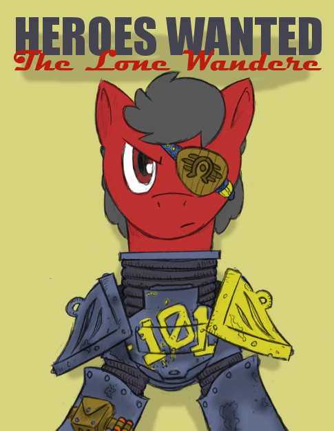 Heroes Wanted: The Lone Wanderer by DontAskForCookie