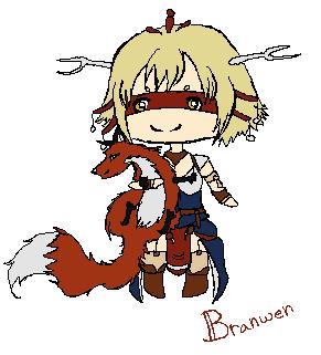 Branwen by Nilhuine