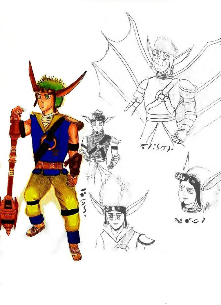 Jak And Daxter Concept Art By Rokudaimexhinata On Deviantart