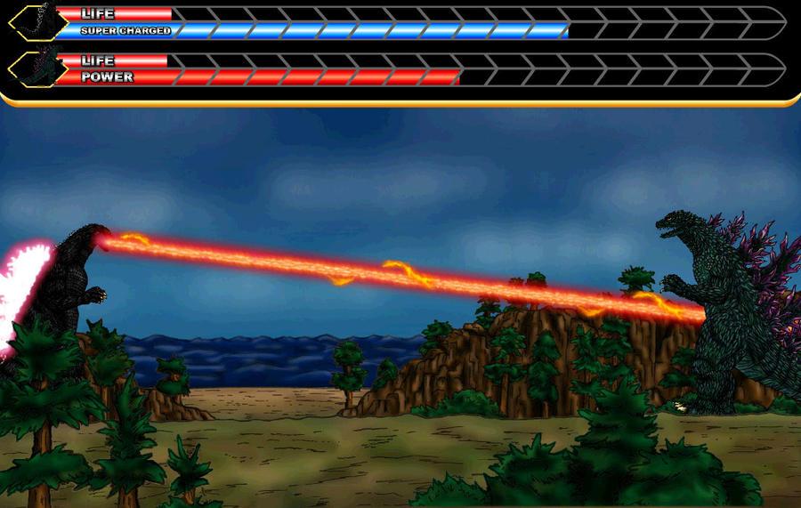 Godzilla 1994 vs Godzilla 2000 by MrJLM18