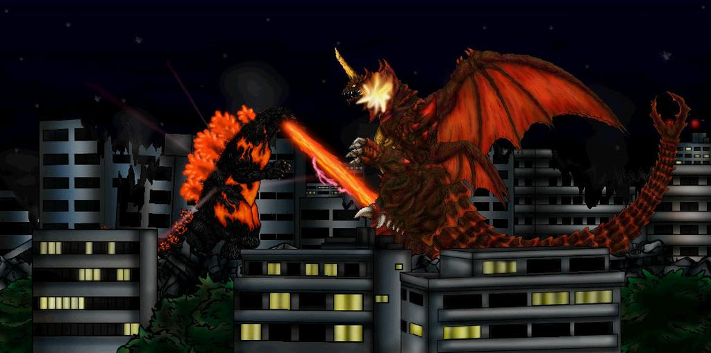 Godzilla vs Destroyah 1995 by MrJLM18