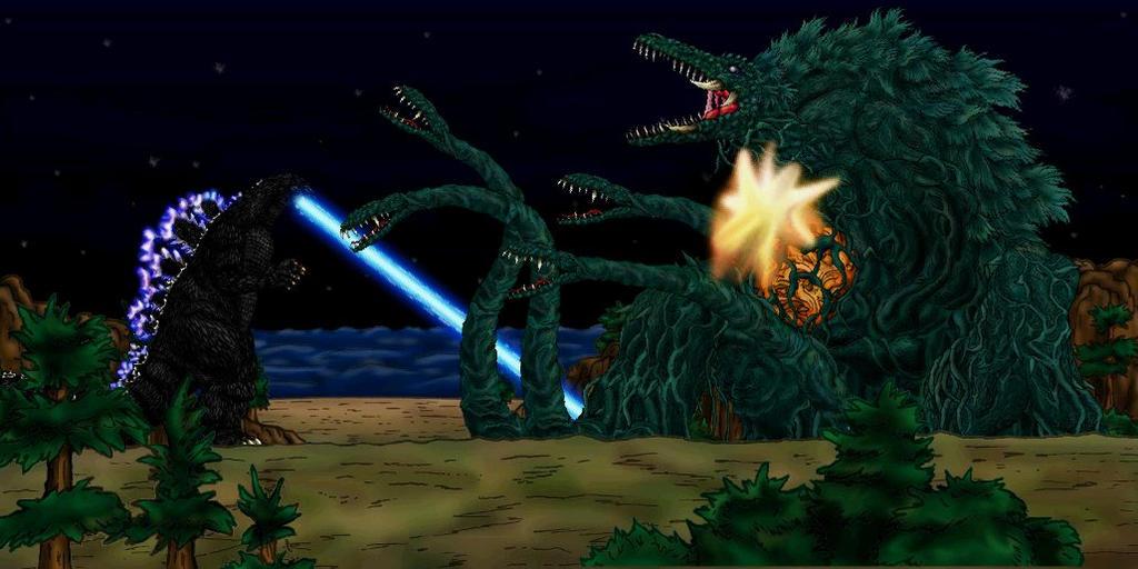 Godzilla vs Biollante 1989 by MrJLM18