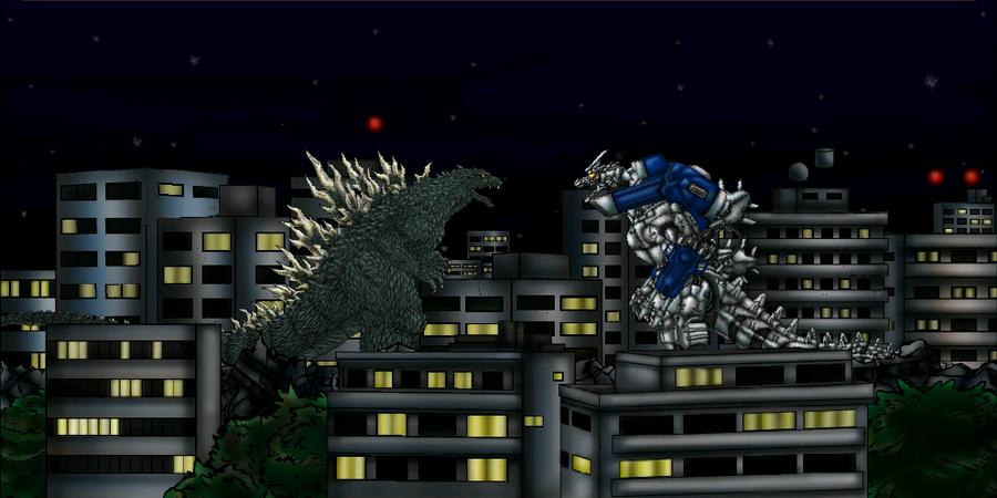 Godzilla Against Mechagodzilla 2002 by MrJLM18