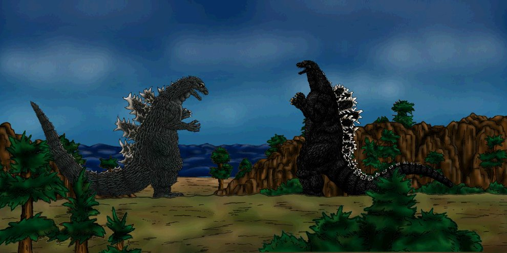 Godzilla 1954 vs Godzilla 1994 by MrJLM18