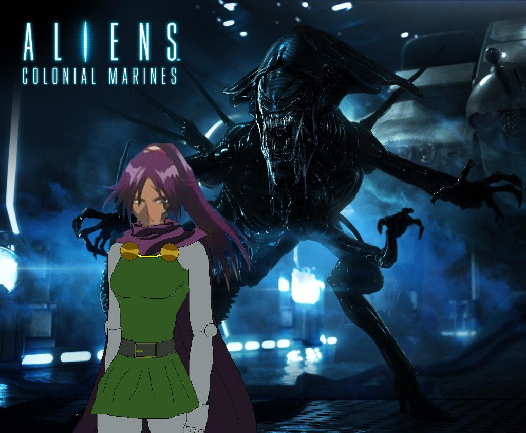 president meet with aliens colonial marines