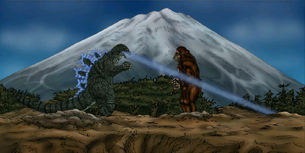 King Kong vs Godzilla 1962 by MrJLM18