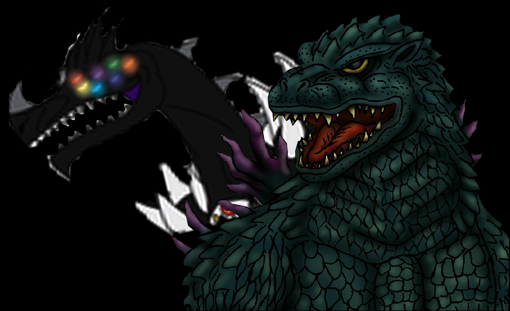 Godzilla 2000 vs Nectrotherium by MrJLM18 on DeviantArt