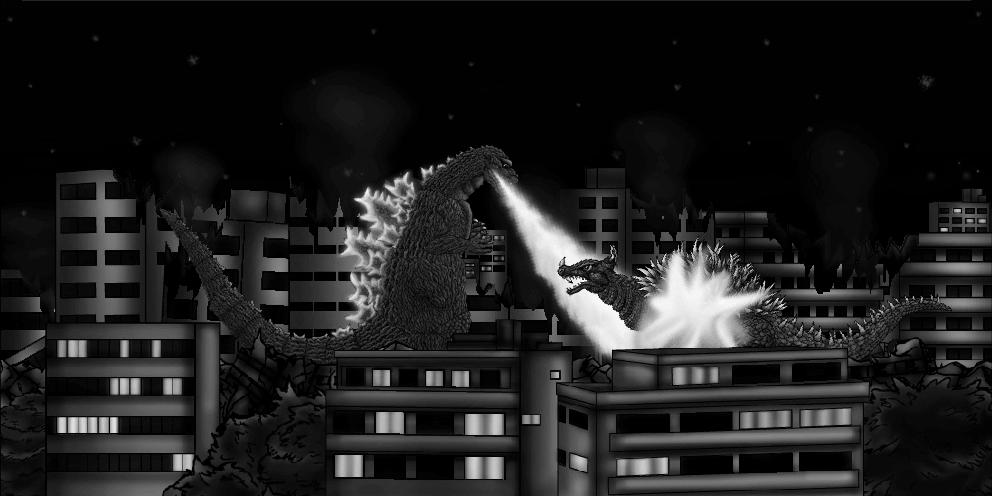 Dibujos Godzilla Raids Again 1955 Para Colorear: Godzilla Raids Again- 1955 By MrJLM18 On DeviantArt