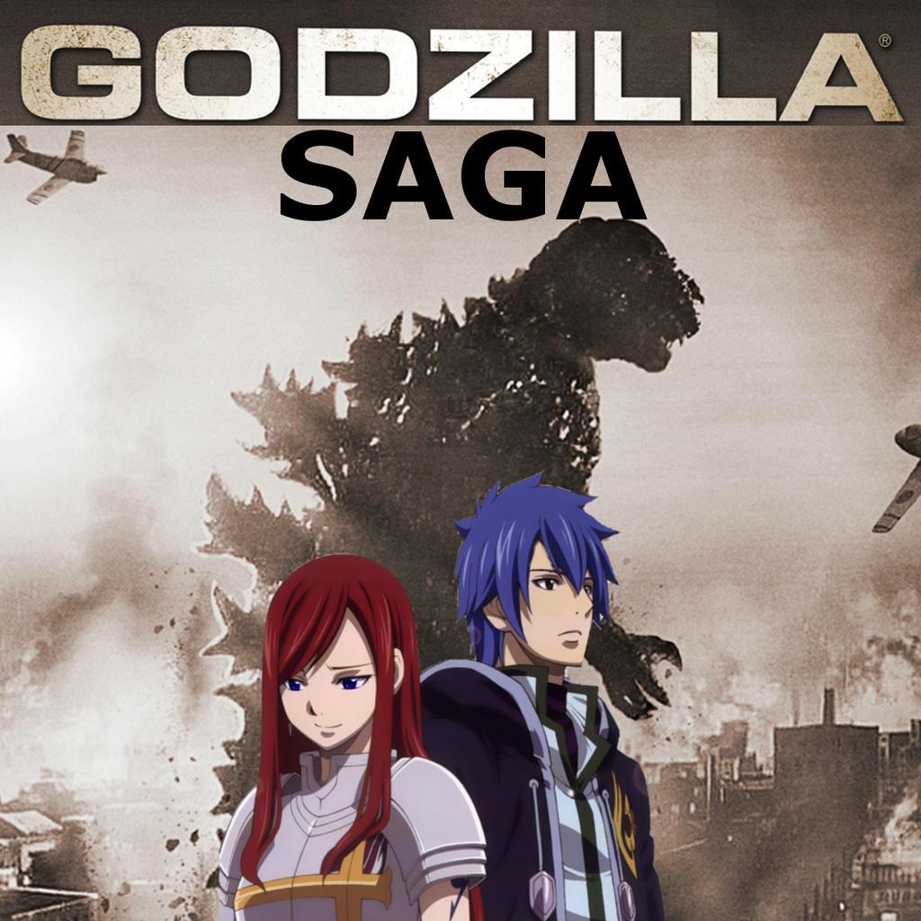 Godzilla Saga poster by MrJLM18