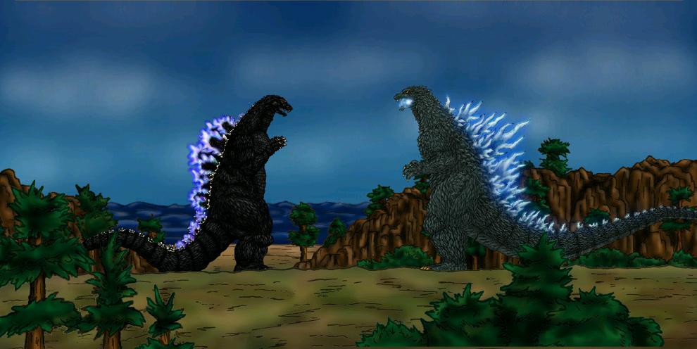 Godzilla 1994 vs Scar by MrJLM18 on DeviantArt
