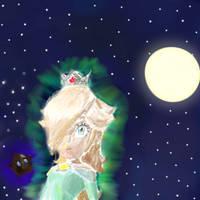 Rosalina-Princess of the stars by SuperMarioStar777