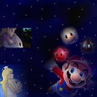 Mario  Galaxy by SuperMarioStar777