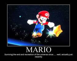 Mario Galaxy Motiv. Poster by SuperMarioStar777