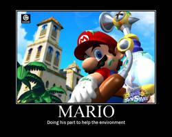 Mario motivational poster by SuperMarioStar777
