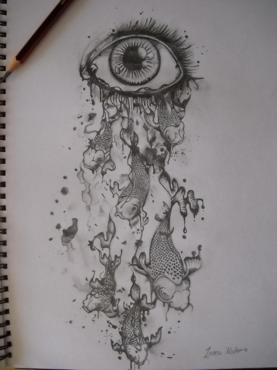 Drawing A Teardrop: Every Teardrop By BandageGirl On DeviantArt